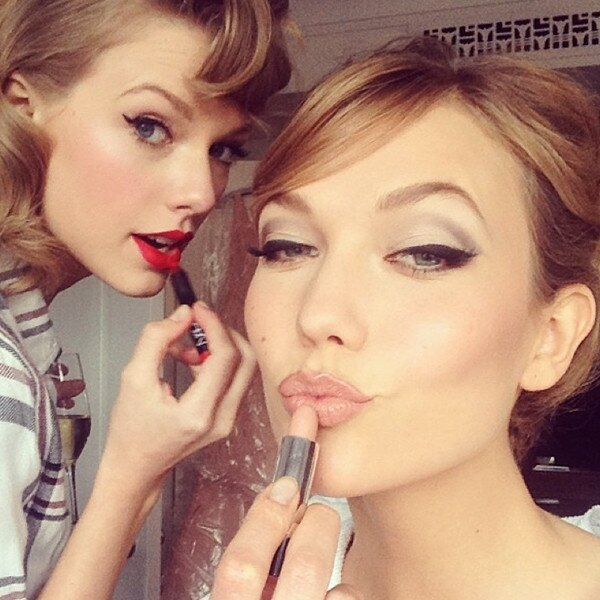 Taylor Swift, Karlie Kloss, MET Instagram