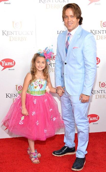 Dannielynn Birkhead, Larry Birkhead, Kentucky Derby 2014