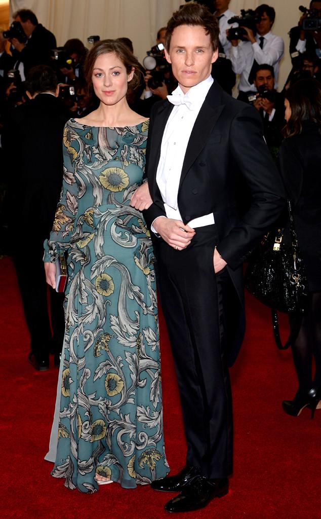 Eddie Redmayne, Hannah Bagshawe. MET Gala