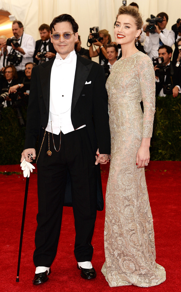 Johnny Depp, Amber Heard, MET Gala