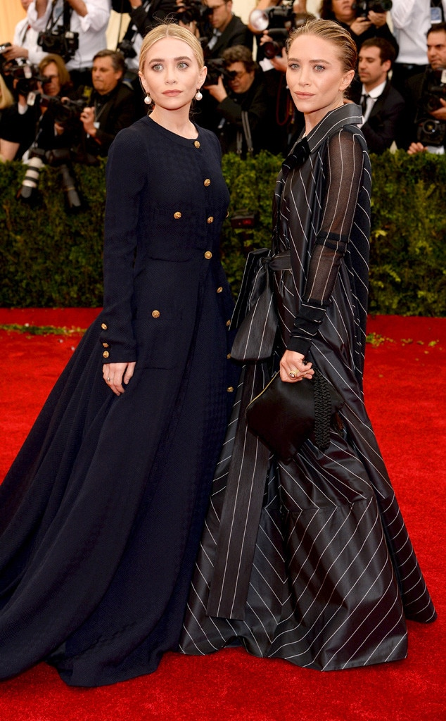 Mary-Kate Olsen, Ashley Olsen, MET Gala