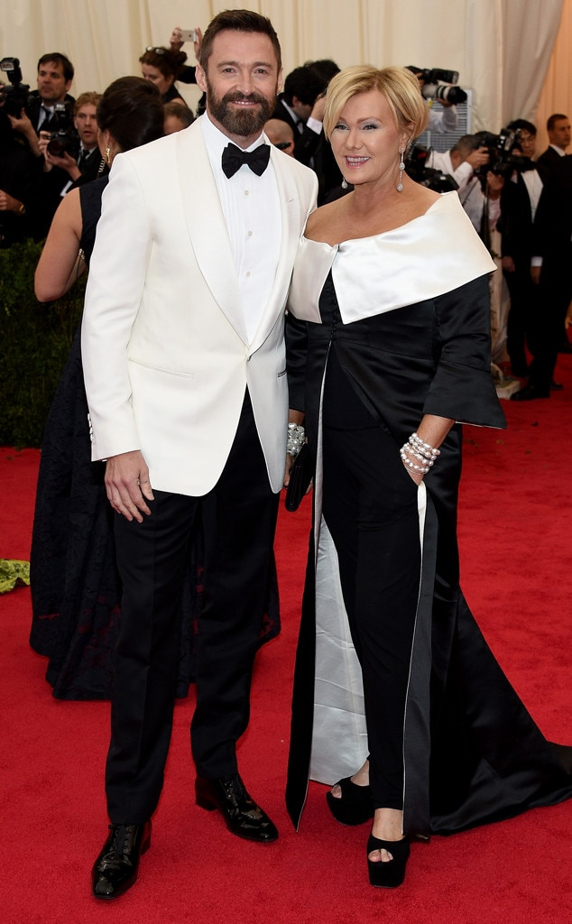 Hugh Jackman, Deborra-Lee Furness, MET Gala