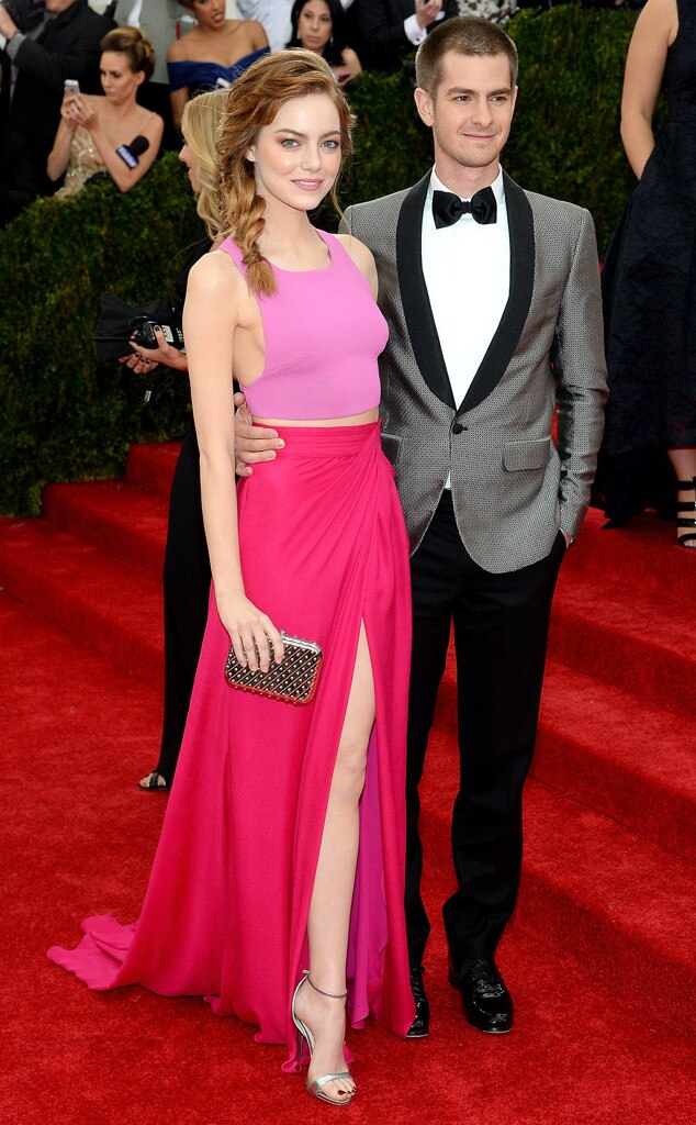 Emma Stone, Andrew Garfield, MET Gala