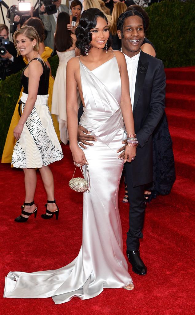 Chanel Iman, ASAP Rocky, MET Gala