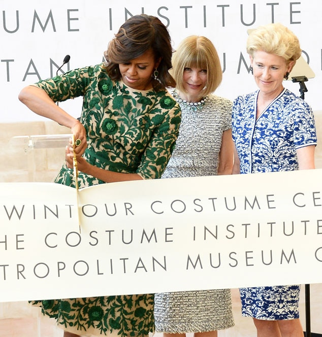 Michelle Obama, Anna Wintour, Emily K. Rafferty