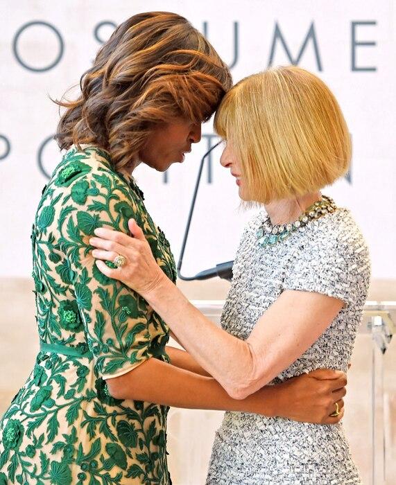 Michelle Obama, Anna Wintour