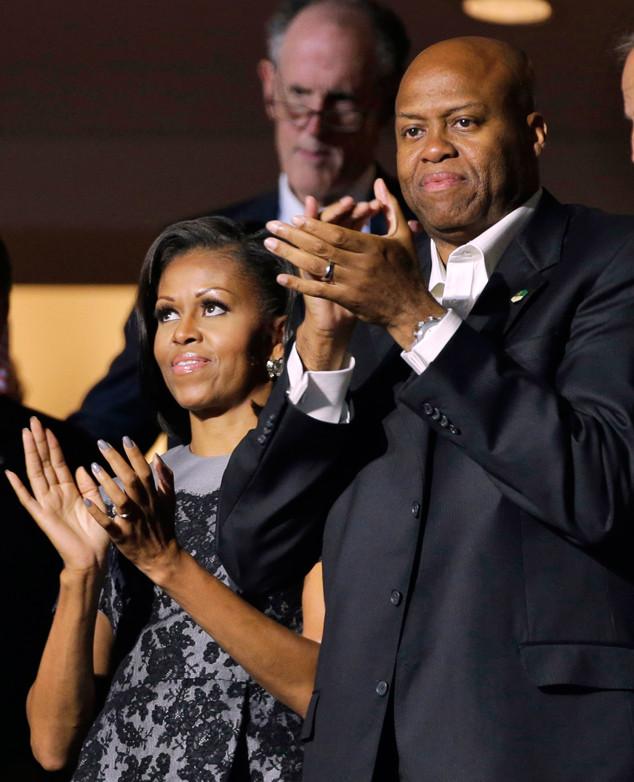 Michelle Obama, Craig Robinson