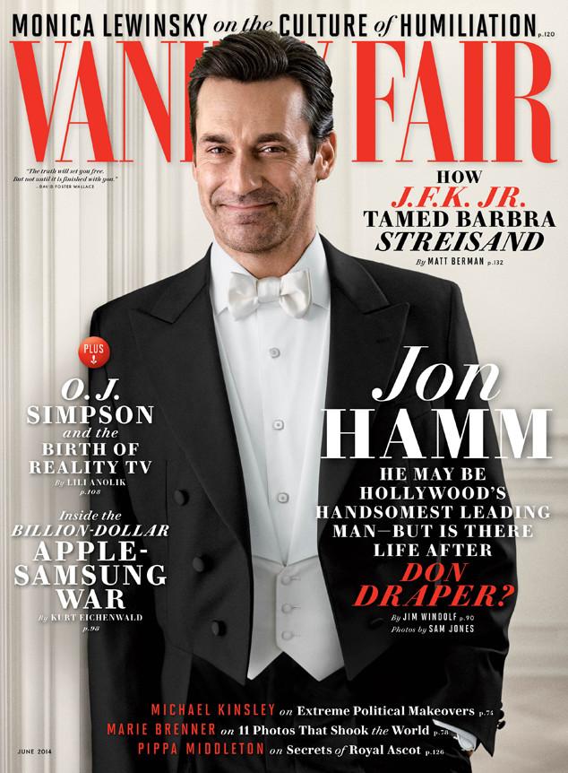 Jon Hamm, Vanity Fair