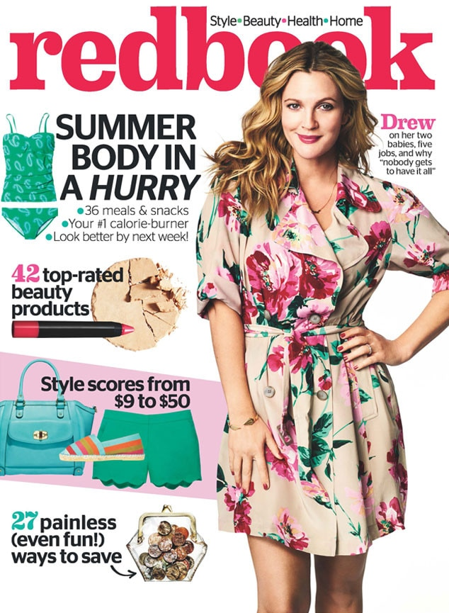 Drew Barrymore, Redbook Cover