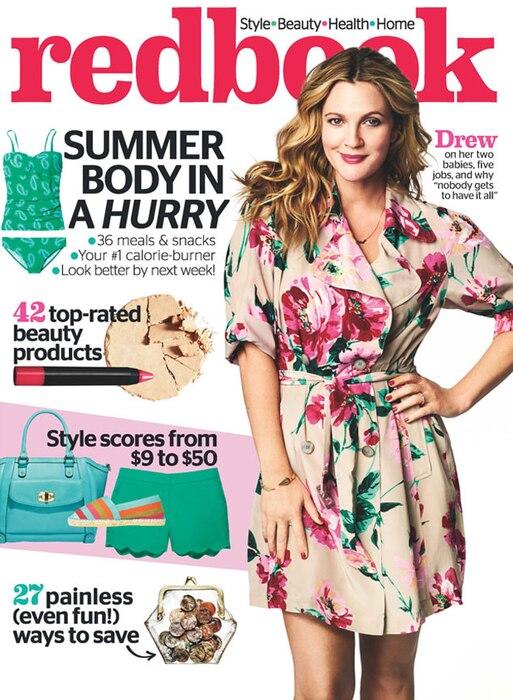 Drew Barrymore, Redbook Cover