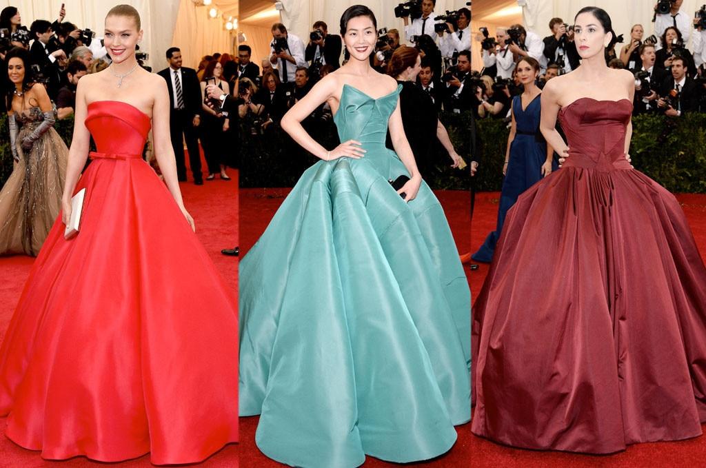 MET Gala Trends, Full Skirt, Arizona Muse, Liu Wen, Sarah Silverman