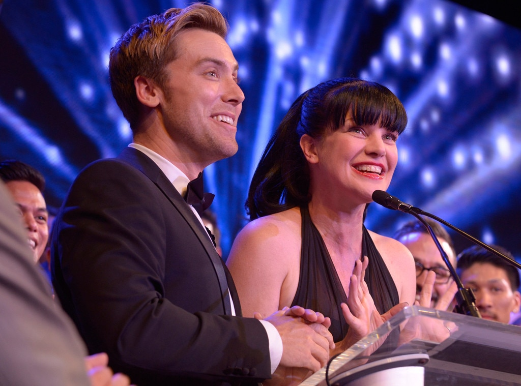 Lance Bass, Pauley Perrette