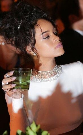 Met Gala, Candid, Rihanna