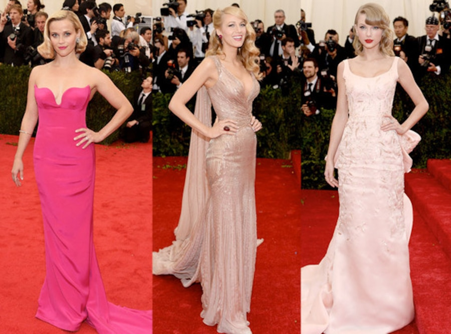 Reese Witherspoon, Blake Lively, Taylor Swift, MET Gala