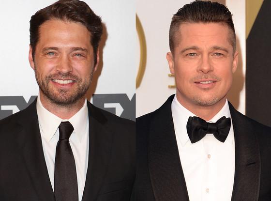 Jason Priestley, Brad Pitt