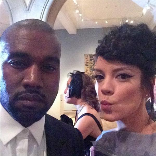 Lily Allen, Kanye West