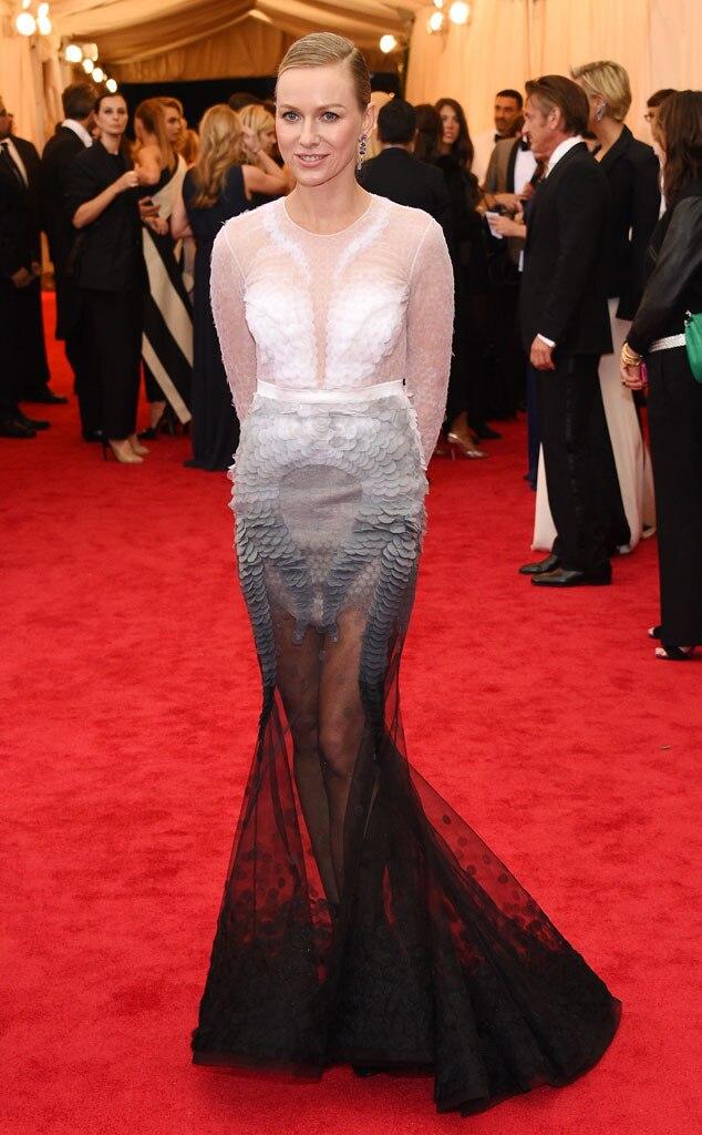 Naomi Watts, Arrivals, Met Gala