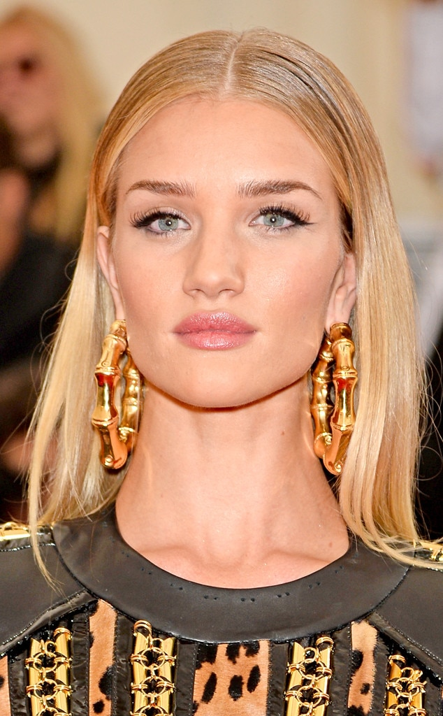 Met Gala, Beauty, Rosie Huntington-Whiteley