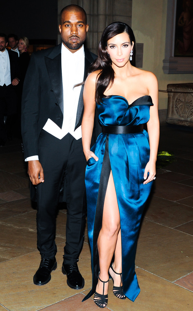 Kim Kardashian, Kanye West, Met Gala After Party