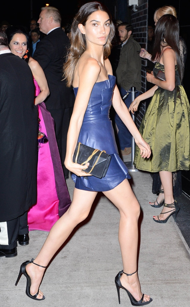 Lily Aldridge, Met Gala After Party