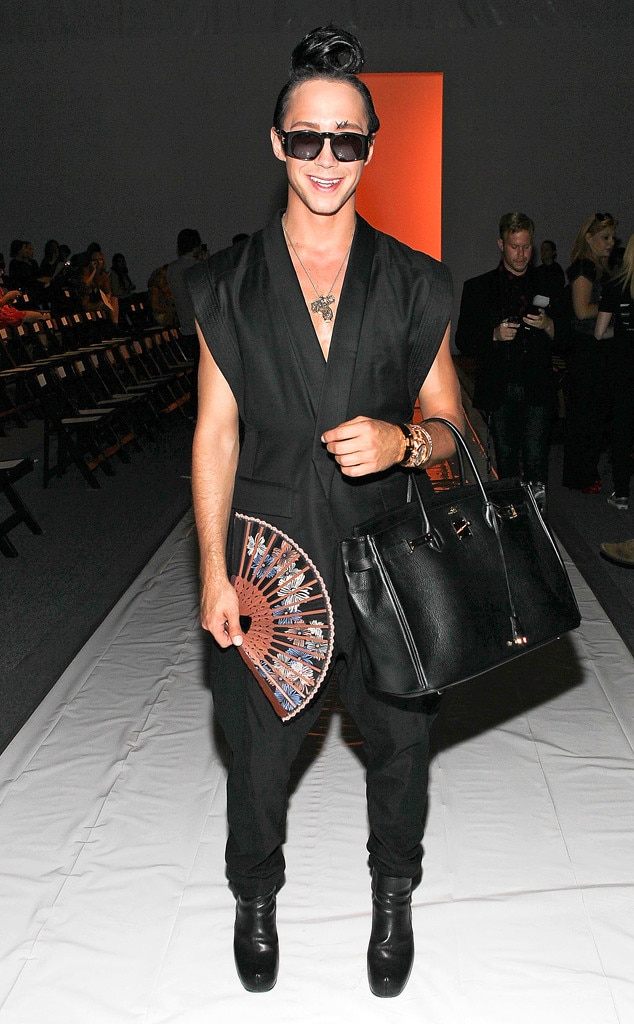 Johnny Weir, Man Bags