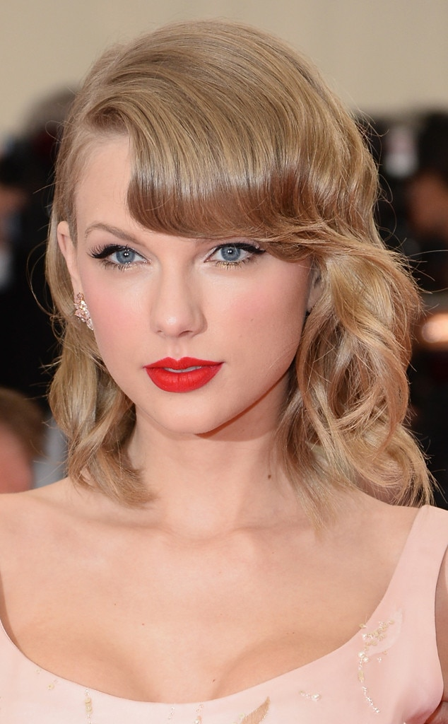 MET Gala, Beauty, Taylor Swift