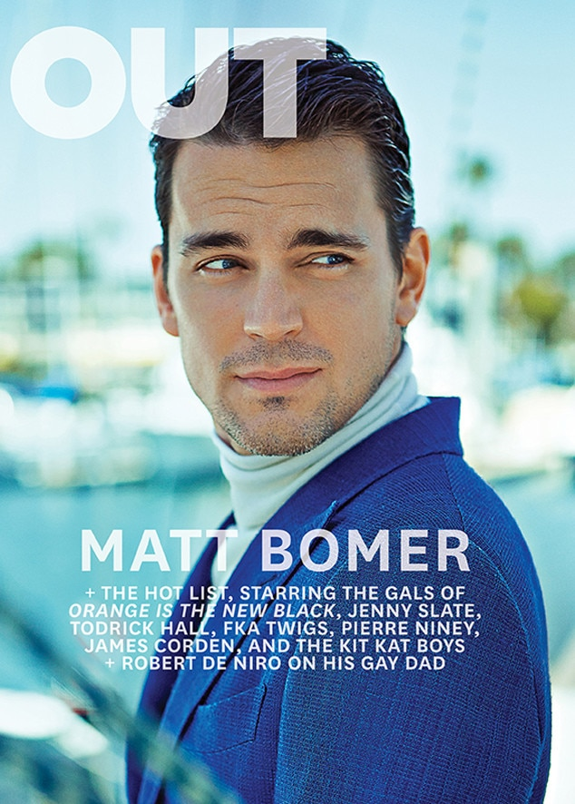 Matt Bomer, OUT Magazine