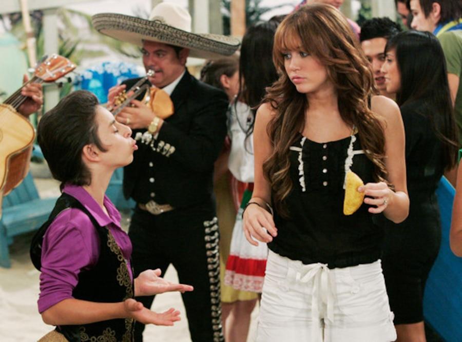 Moises Aria, Miley Cyrus, Hannah Montana
