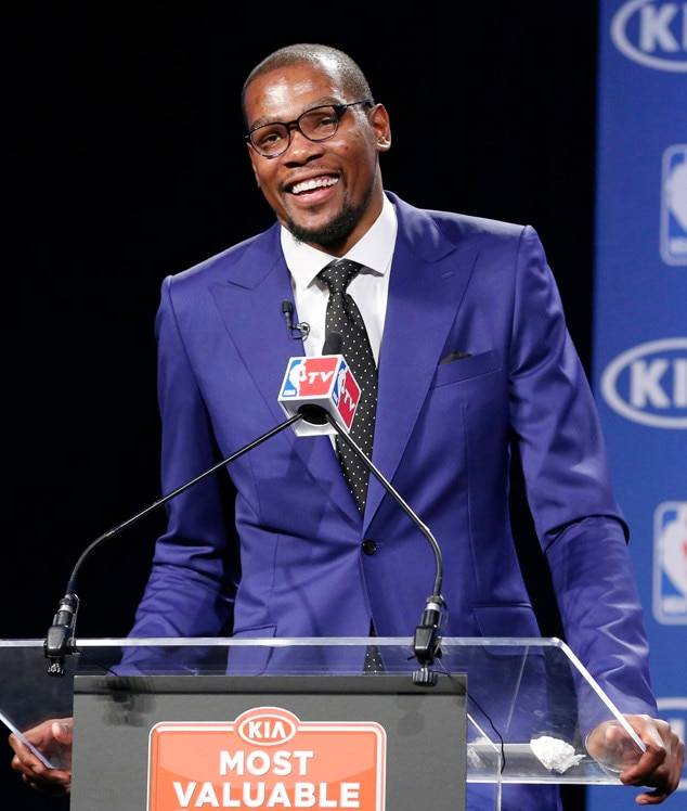 Kevin Durant, NBA Basketball Most Value Player Award