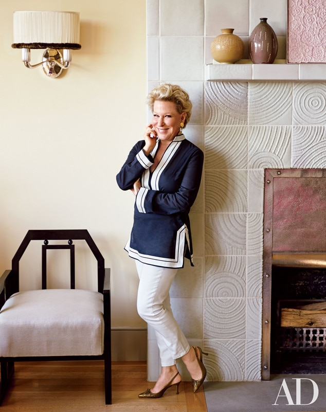 Bette Midler, Architectural Digest