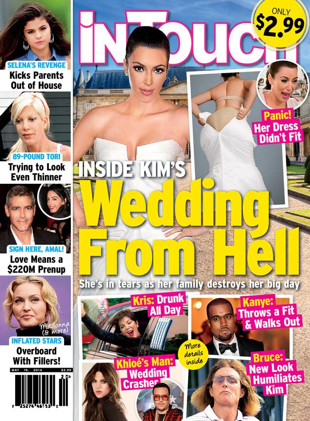 Kim Kardashian, In Touch Weekly