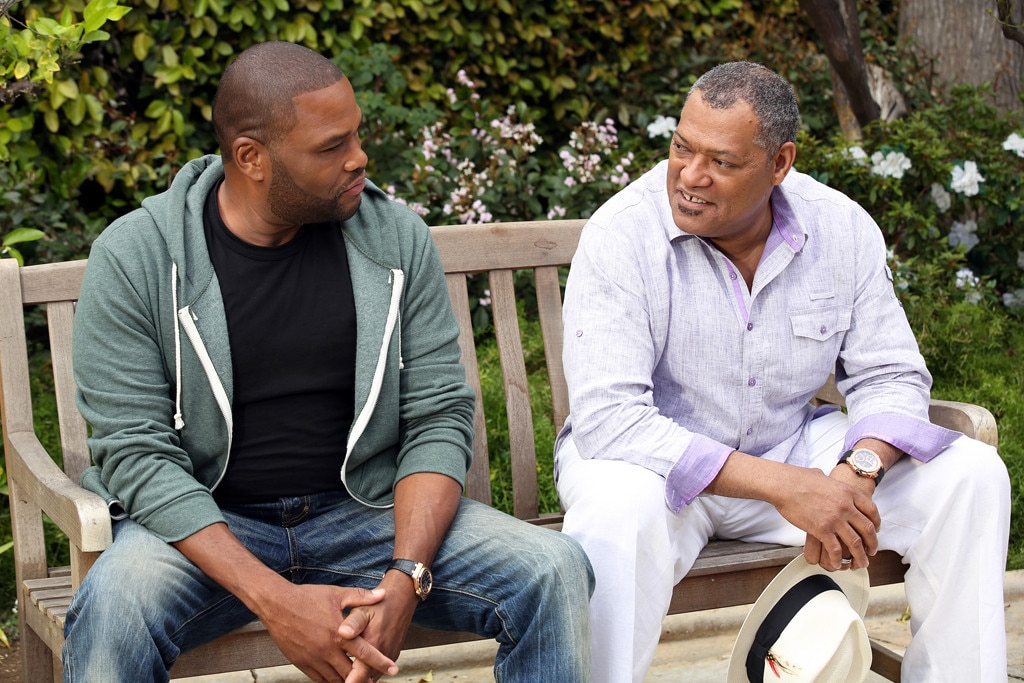 Black-ish, Anthony Anderson, Laurence Fishburne