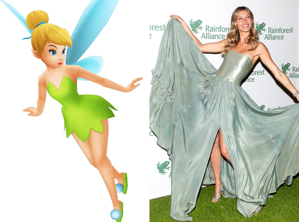Gisele Bundchen, Disney Princess Style