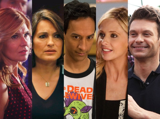 Connie Britton, Nashville, Danny Pudi, Community, Sarah Michelle Gellar, The Crazy Ones, Mariska Hargitay, Law & Order, Ryan Seacrest