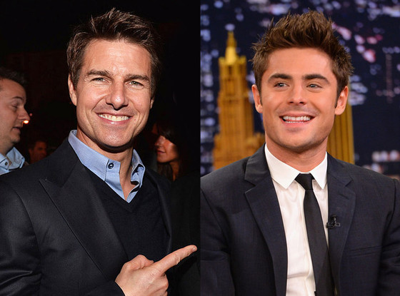 Tom Cruise, Zac Efron
