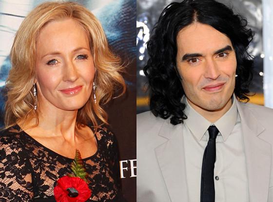 JK Rowling, J.K. Rowling, Russell Brand