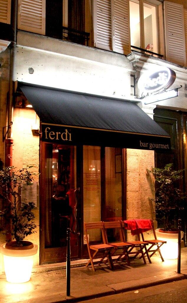Ferdi Restaurant Paris, Kim Kardashian