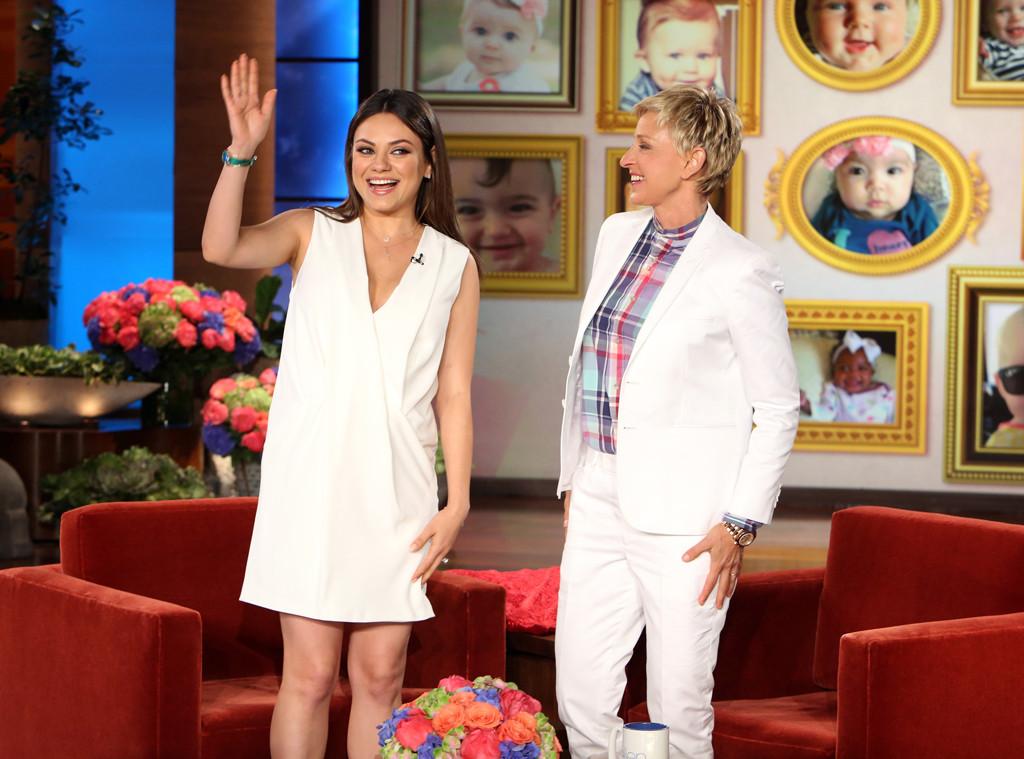 Mila Kunis, Ellen Degeneres