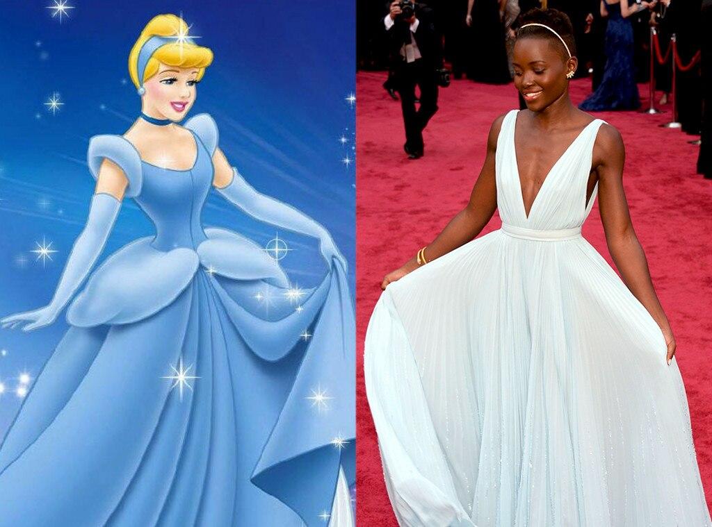 Lupita Nyong'o, Disney Princess Style
