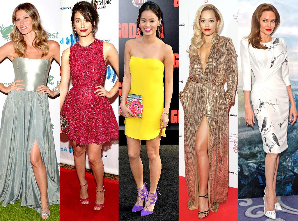 Angelina Jolie, Gisele Bundchen, Rita Ora, Emmy Rossum, Jamie Chung