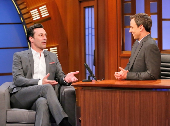 Jon Hamm, Late Night with Seth Meyers