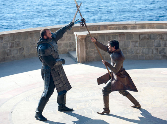 Hafþór Júlíus Björnsson, Pedro Pascal, Game Of Thrones