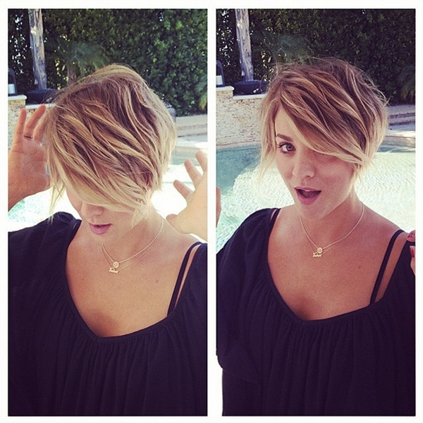 Kaley Cuoco, Instagram