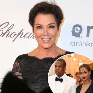 Kris Jenner, Jay-Z, Beyonce