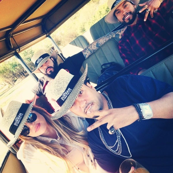 Khloe Kardashian, French Montana, Instagram, Safari