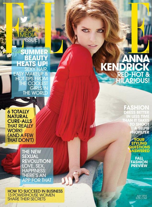 Anna Kendrick, Elle Magazine Cover