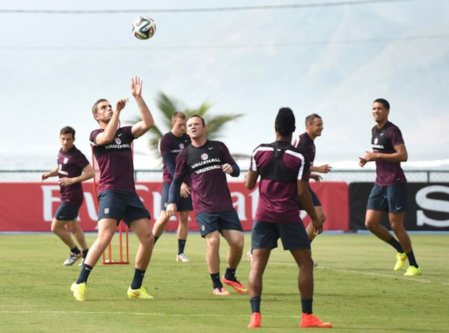 England Team, World Cup 2014