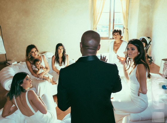 Kim Kardashian, Kanye West, Kimye Wedding