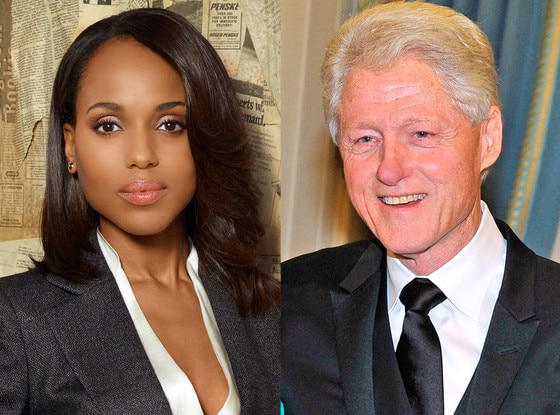 Kerry Washington, Scandall, Bill Clinton