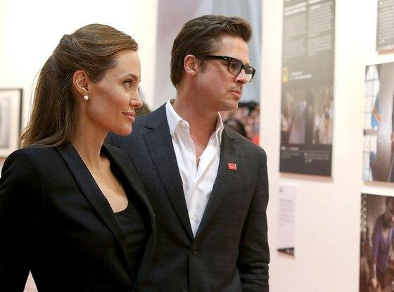 Angelina Jolie and Brad Pitt Reuniting on the Big Screen ... Brad Pitt And Angelina Jolie